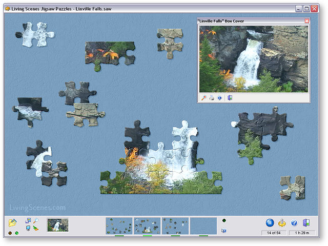 Click to view Living Scenes Jigsaw Puzzles 2.3 screenshot