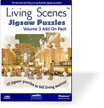 Living Scenes Jigsaw Puzzles - Volume 3